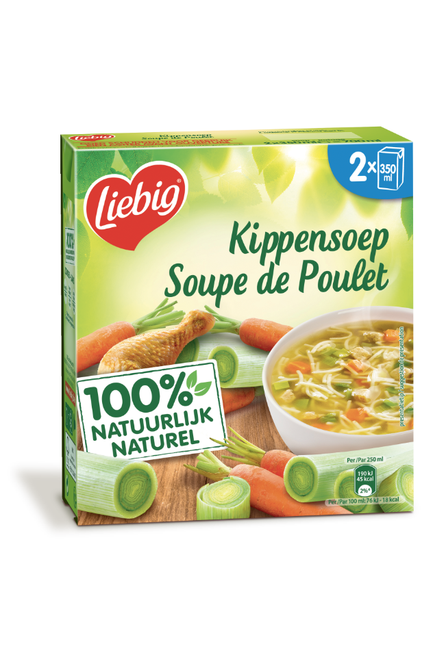 Liebig 2x350ml Poule au pot